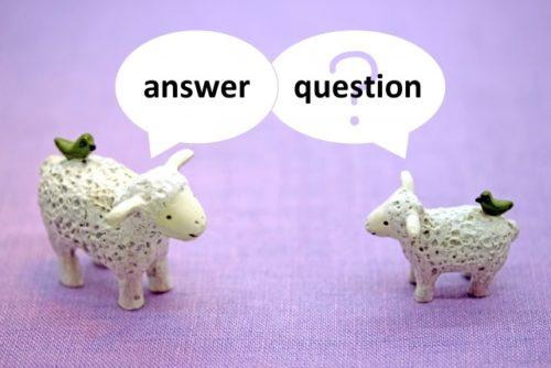 質問するイメージ
